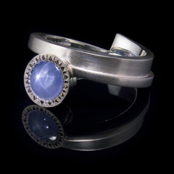 star sapphire silver palladium