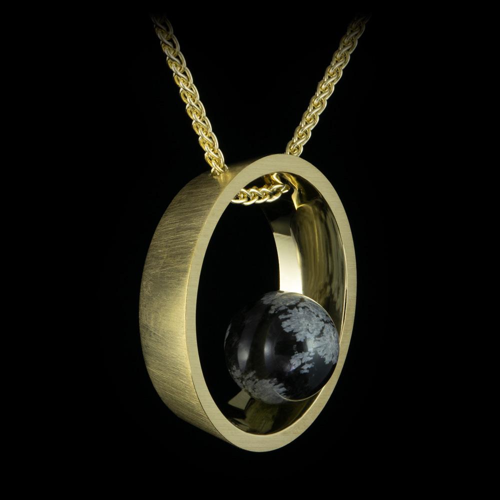 gold obsidian brushed metal