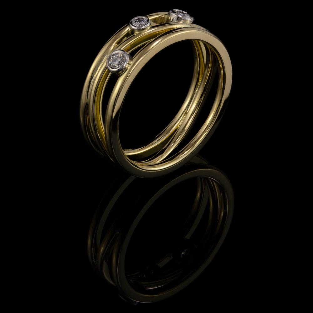 diamonds gold platinum
