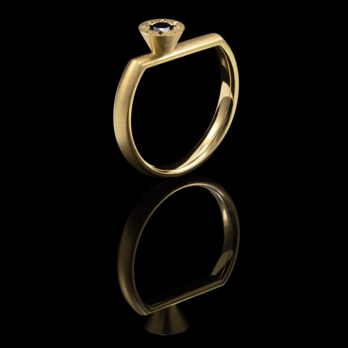 gold black diamond